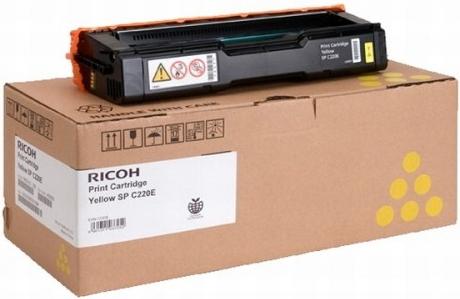 Принт-картридж SPC220E для Ricoh LE желтый