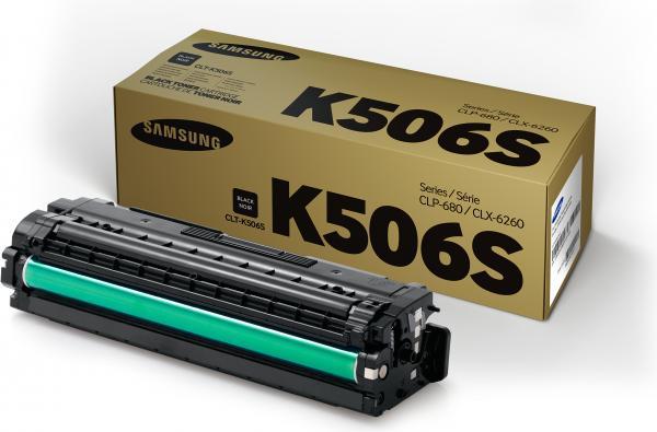Картридж Samsung CLT-K506S черный оригинальный