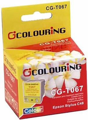 Картридж совместимый Colouring 067 для Epson цветной