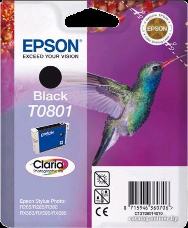 Картридж EPSON T08014010 черный оригинальный
