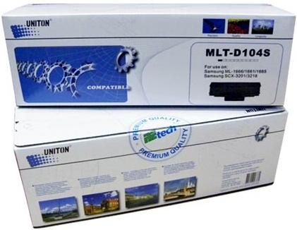 Картридж совместимый UNITON Premium MLT-D104S черный для Samsung