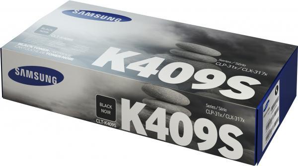 Картридж Samsung CLT-K409S черный оригинальный