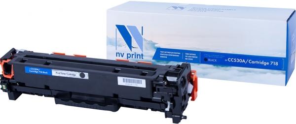 Картридж совместимый NV Print CC530A черный для HP