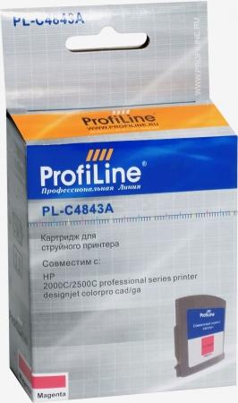 Картридж совместимый ProfiLine C4843A №10 для HP пурпурный
