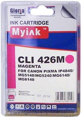 Картридж совместимый MyInk CLI-426M красный для Canon