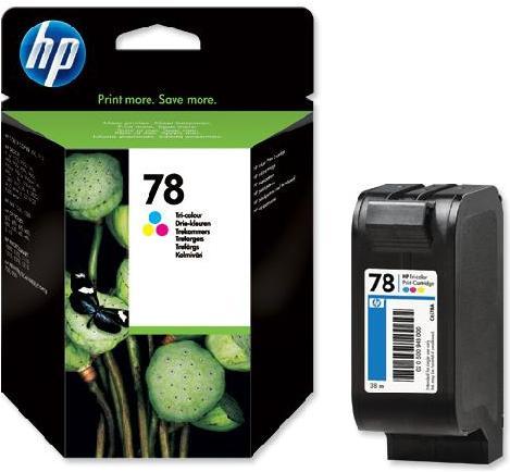 Картридж HP C6578AE трехцветный оригинальный