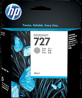 Картридж HP B3P18A серый оригинальный