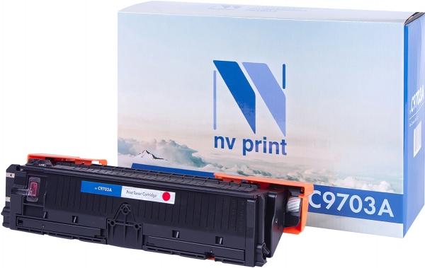 Картридж совместимый NVPrint C9703A для HP пурпурный