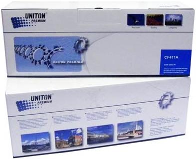 Картридж совместимый для HP CF411A синий UNITON Premium