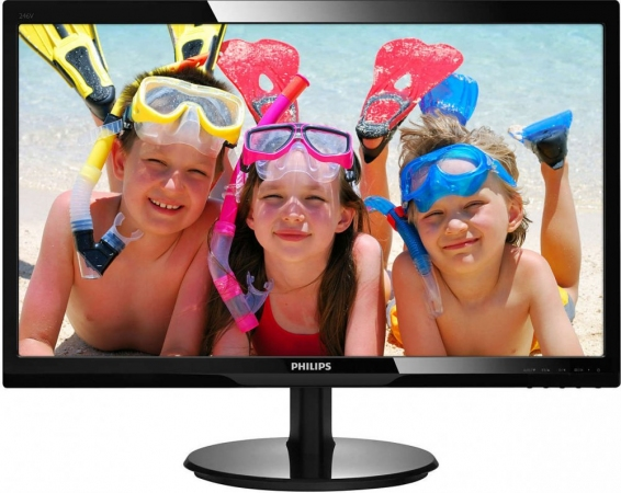 "Монитор 24"" Philips 246V5LDSB/00 Black"