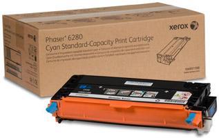 Картридж XEROX 106R01400 голубой оригинальный