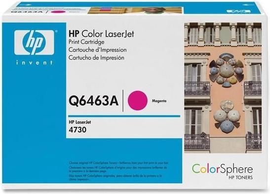 Картридж HP Q6463A пурпурный оригинальный