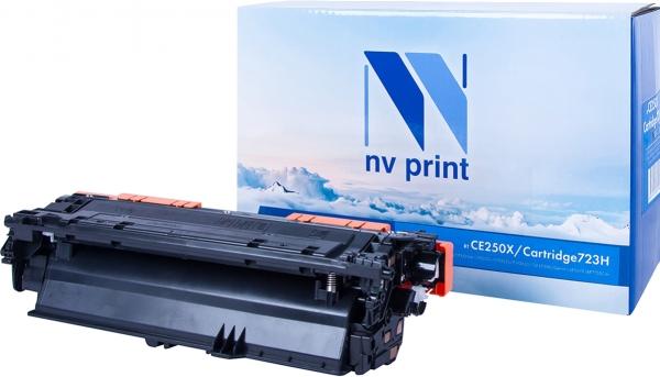 Картридж совместимый NVPrint CE250X/Canon 723H для HP и Canon черный