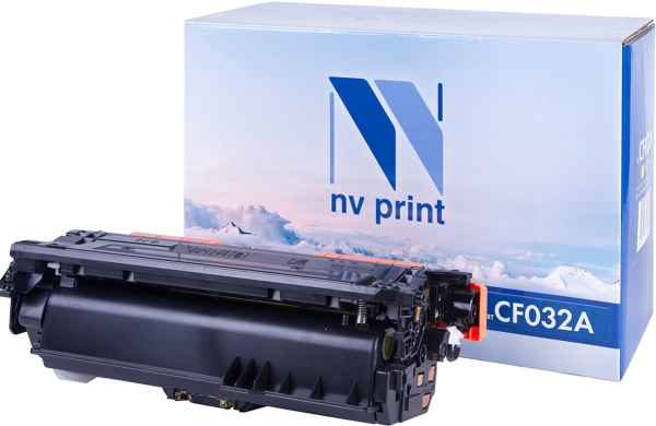 Картридж совместимый NVPrint CF032A для HP желтый