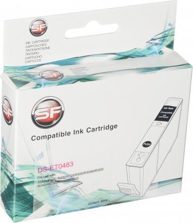 Картридж совместимый SuperFine T0483 пурпурный для Epson