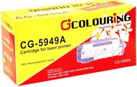 Картридж совместимый Colouring Q5949A/708 для HP и Canon