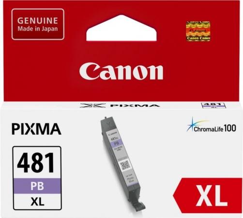 Картридж для CANON CLI-481XLPB фото-синий оригинальный