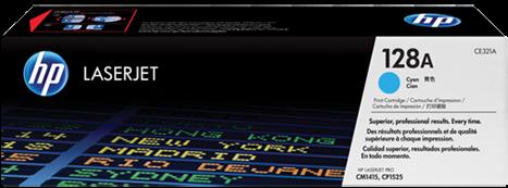 Картридж HP CE321A голубой совместимый UNITON Eco