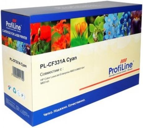 Картридж совместимый ProfiLine CF331A голубой для HP