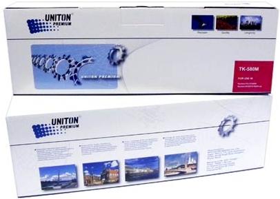Картридж совместимый UNITON Premium TK-580M красный для Kyocera
