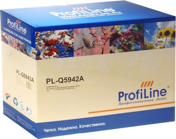 Картридж совместимый ProfiLine Q5942A black для HP