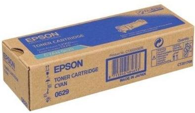 Тонер-картридж EPSON C13S050629 голубой оригинальный