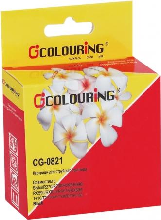 Картридж совместимый Colouring 0821 для Epson черный