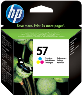 Картридж HP C6657AE трехцветный оригинальный