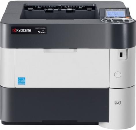Принтер лазерный Kyocera P3060dn только с доп. оригинальным картриджем
