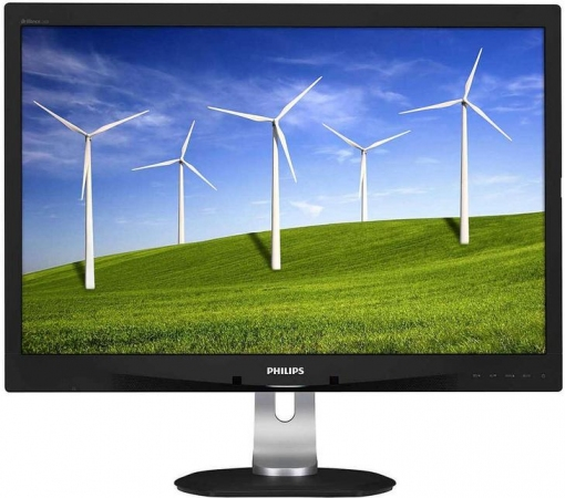 "Монитор 24"" PHILIPS 240B4QPYEB/00(01) Silver-Black"