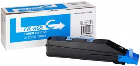 Картридж Kyocera TK-865C голубой оригинальный
