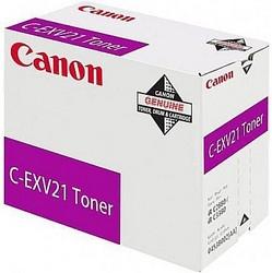 Тонер-картридж Canon C-EXV 21 пурпурный оригинальный