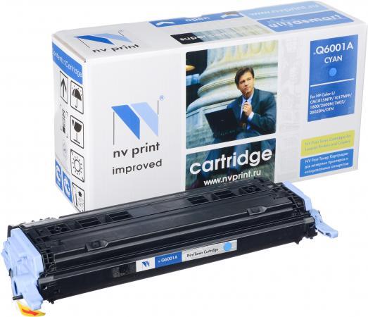 Картридж совместимый NV Print Q6001A голубой для HP